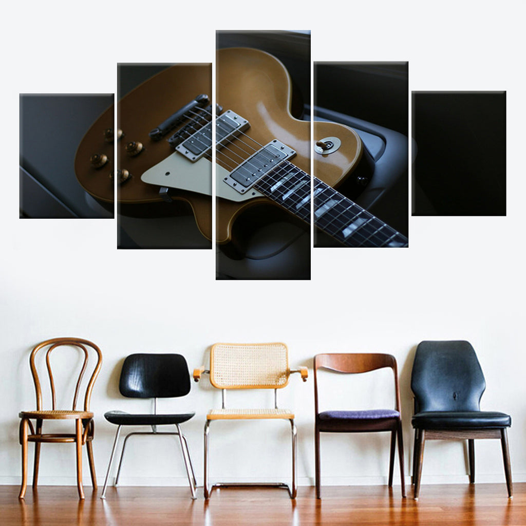 Electric Guitar Multipanel Canvas Art