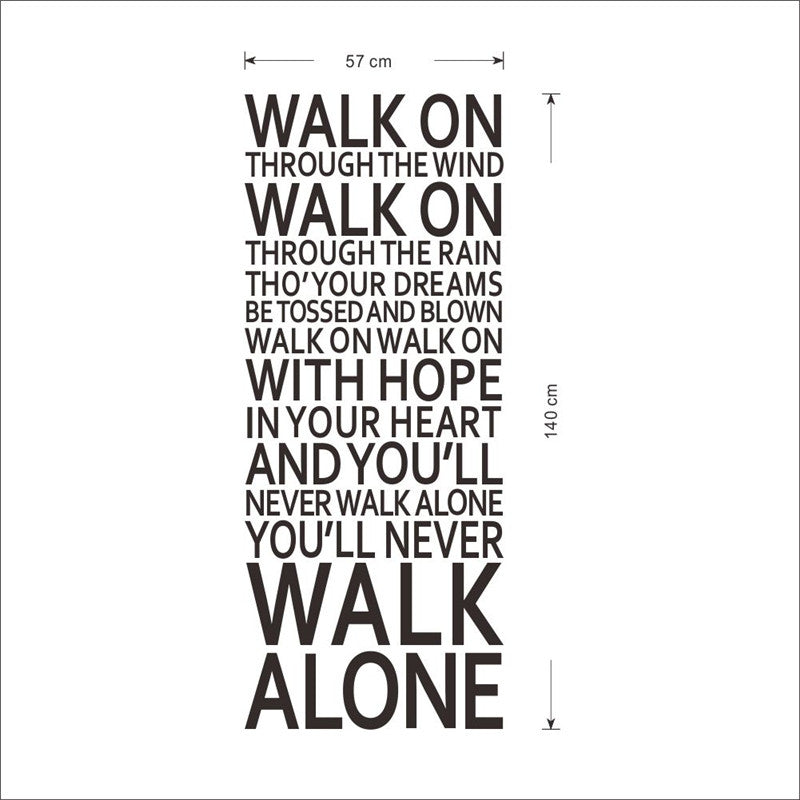 Liverpool Fc Walk On Through The Wind You 39 Ll Never Walk Alone So Anjuna Lane