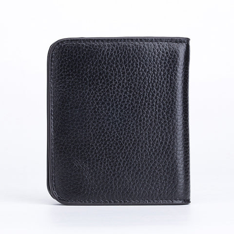 Designer Slim Mini Wallet Leather Small Coin Purse Card Holder with Clutch for Women