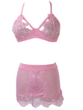 Women's Lingerie sexy nightwear Intimate Lace Sleepwear Underwear for Women