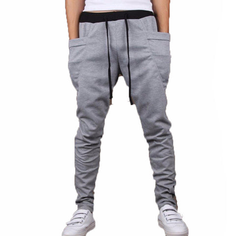 cargo pants mens clothing grey joggers mens tracksuit bottoms casual trousers M L XL XXL