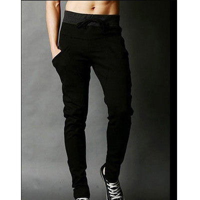 cargo work trousers black tracksuit bottoms casual trousers M L XL XXL