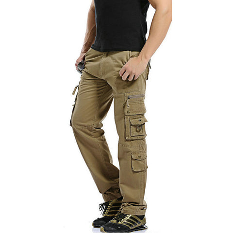 Men Worker Hardwearing Combat Track Pants 4 Pockets Trade Cargo Trousers Navy Pack