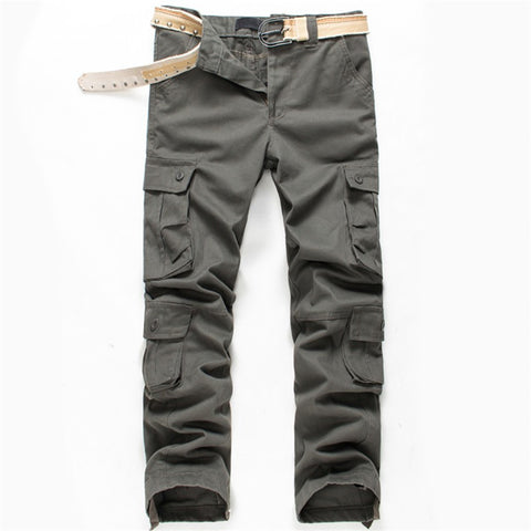 Men Worker Hardwearing Combat 4 Pockets Trade Cargo Trousers Navy Pack s m l xl xxl