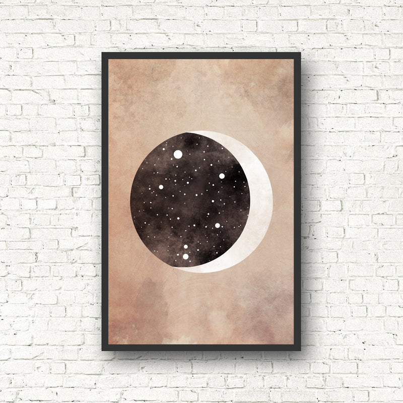 Moon Zodiac Constellation Print - Pick Your Sign