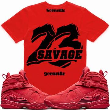 41d264575e8 23 SAVAGE- Valentines Day 8 - DapperSam Clothing sneaker match tee
