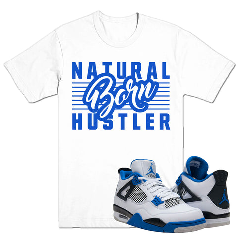 BORN HUSTLER - DapperSam Clothing sneaker match tee