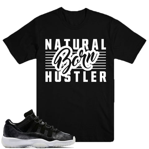 BORN HUSTLER- Baron 11 - DapperSam Clothing sneaker match tee