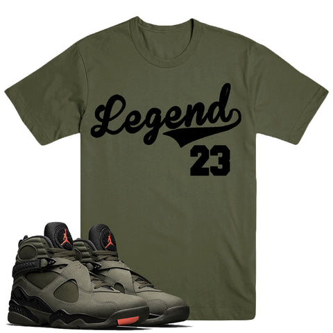 LEGEND- Jordan Take Flight 8's - DapperSam Clothing sneaker match tee