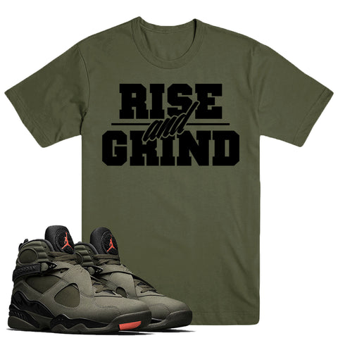 RISE GRIND- Jordan Take Flight 8's - DapperSam Clothing sneaker match tee