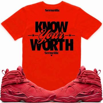 c7c1cfcf079e75 KNOW WORTH- Valentines Day 8 - DapperSam Clothing sneaker match tee