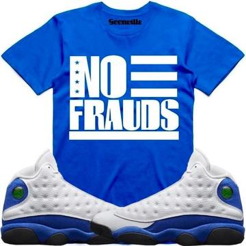 20fa5334cee NO FRAUDS- Hyper Royal 13 - DapperSam Clothing sneaker match tee