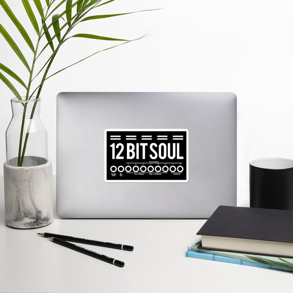 12 Bit Soul Bubble-free stickers