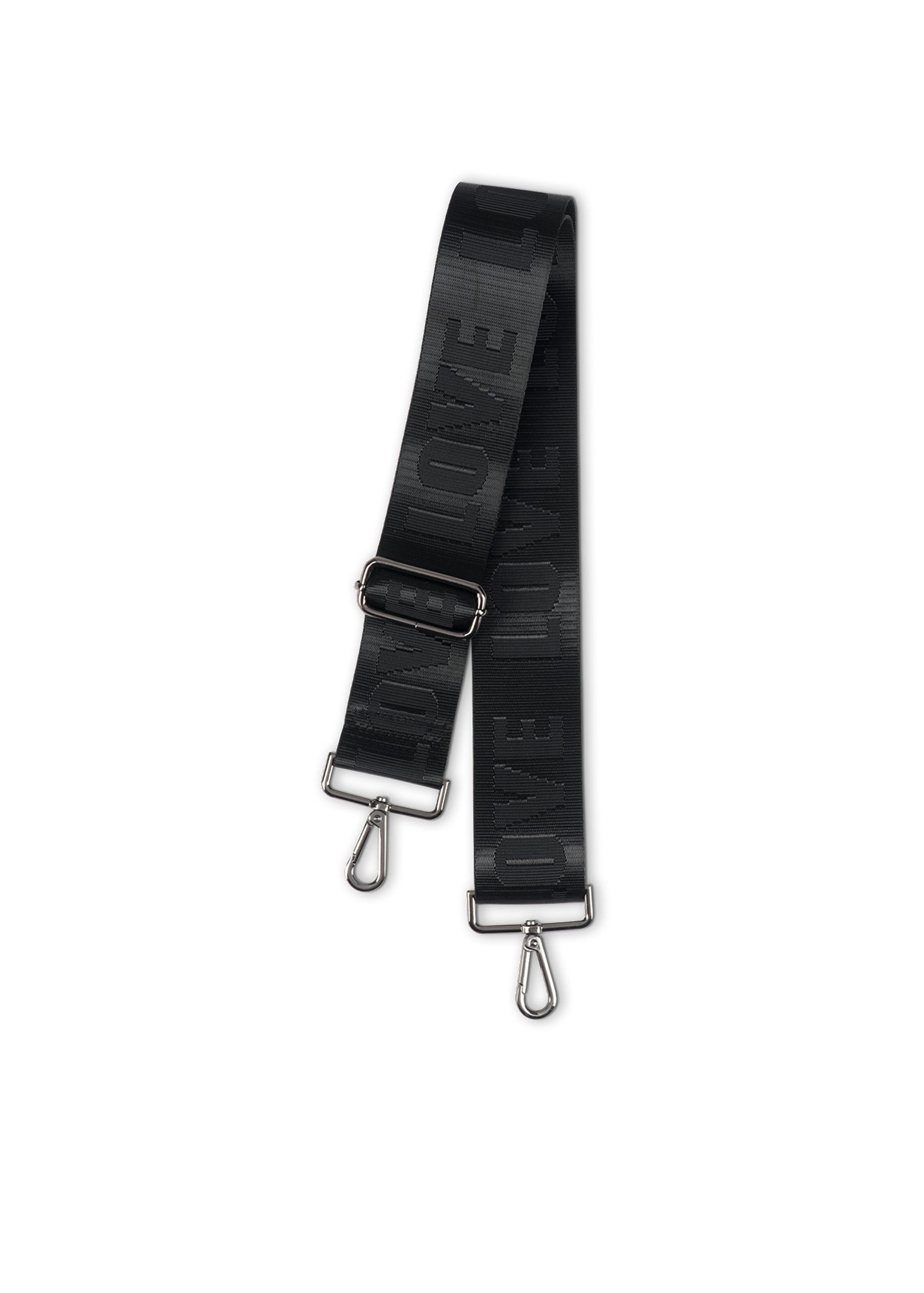 Black/Black LOVE Handbag Strap