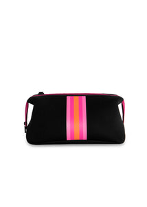 Kyle Black/Pink Orange Stripe