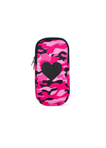Ev Glasses Case Pink Camo