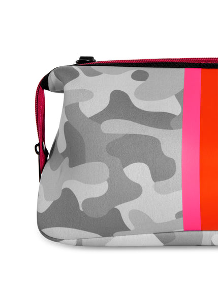 Kyle White Camo/Pink/Orange Stripe