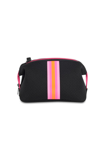Erin Black/Pink Orange Stripe