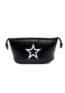Erin Black Coated Silver Sparkle Star