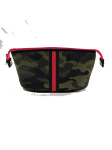 Erin Green Camo Red/Black Stripe