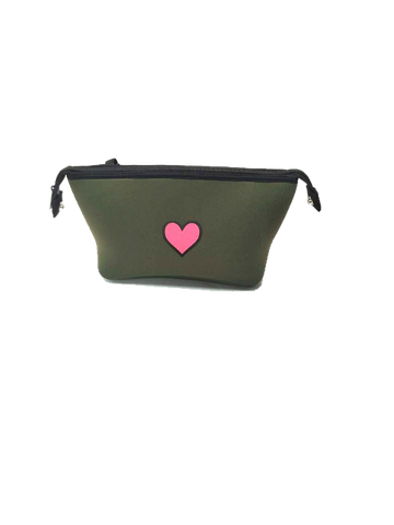 Erin Olive Pink Heart