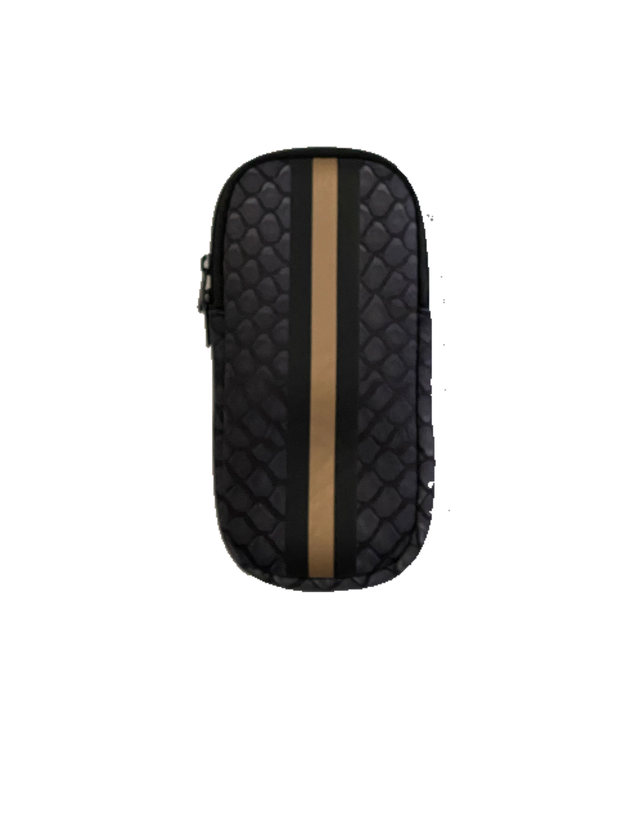Ev Glasses Case Black Croc