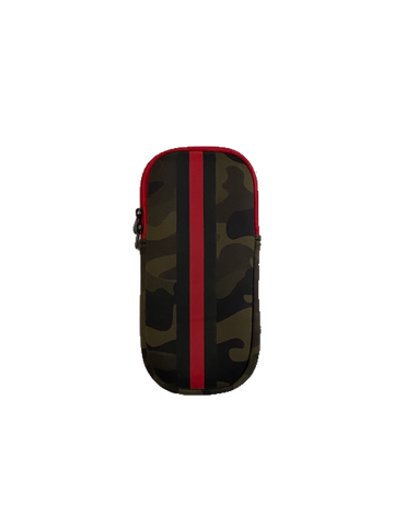 Ev Glasses Case Green Camo