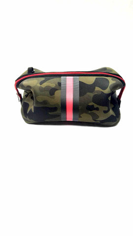 Kyle Green Camo/red black stripe