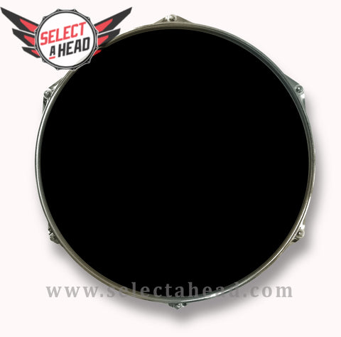 14 Inch Blank Drum Display with Black Hoop