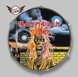 Iron Maiden 1980 - Select a Head Drum Display