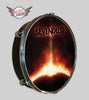 Sevendust Black Out The Sun - Select a Head Drum Display