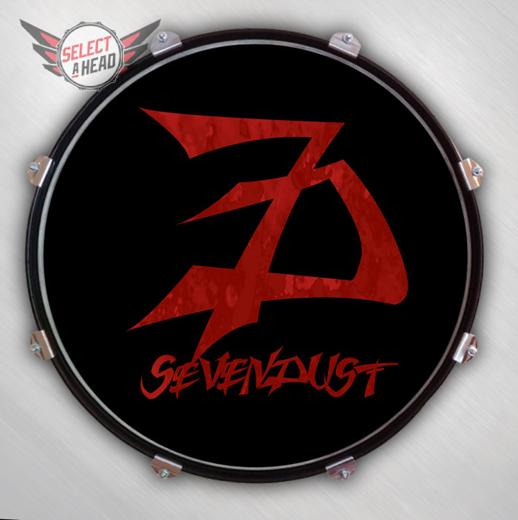 Sevendust Next - Select a Head Drum Display