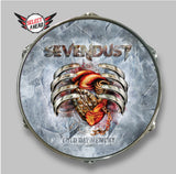 Sevendust Cold Day Memory - Select a Head Drum Display