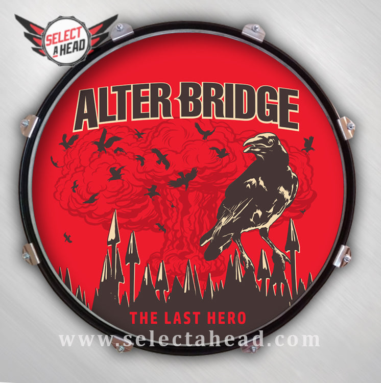 Alter Bridge The Last Hero Alternative - Select a Head Drum Display