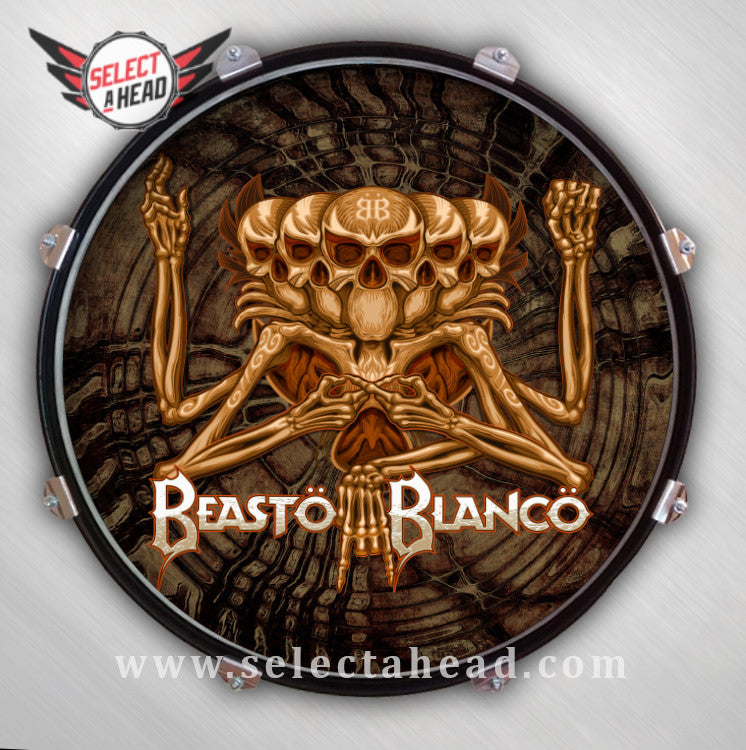 Beasto Blanco - Select a Head Drum Display