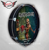 Iron Maiden Book of Souls World Tour - Select a Head Drum Display
