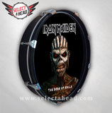 Iron Maiden Book of Souls - Select a Head Drum Display