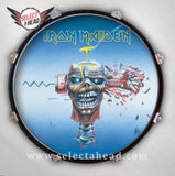 Iron Maiden Can I Play With Madness - Select a Head Drum Display