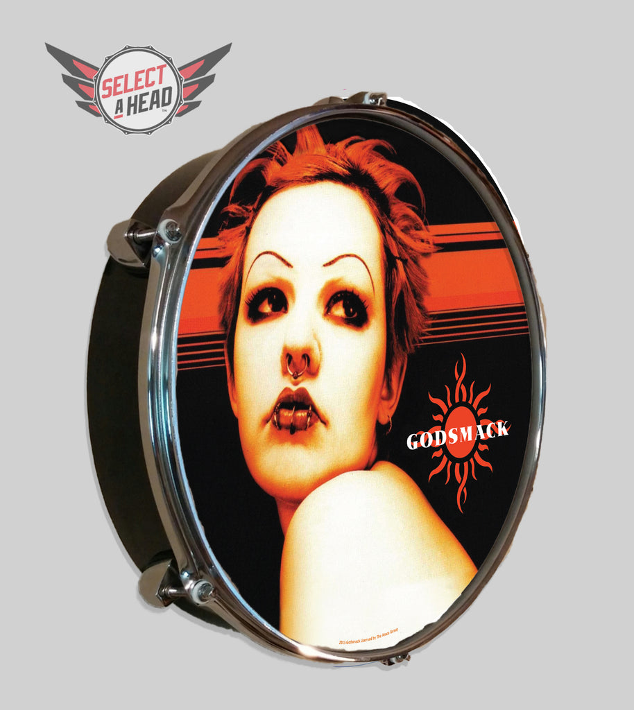 Godsmack Debut Album - Select a Head Drum Display