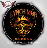 Lynch Mob Sun Red Sun - Select a Head Drum Display
