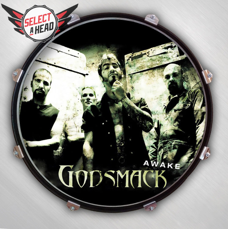 Godsmack Awake - Select a Head Drum Display