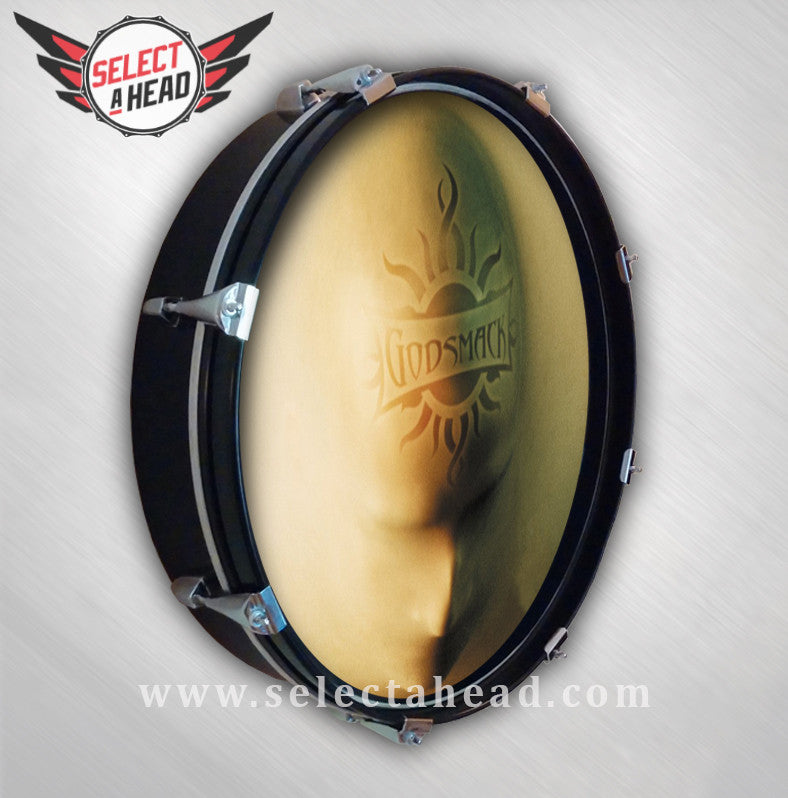 Godsmack Faceless - Select a Head Drum Display