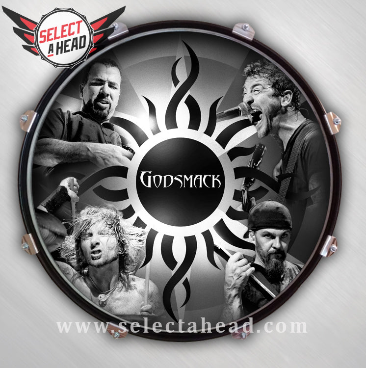 Godsmack Live & Inspired - Select a Head Drum Display