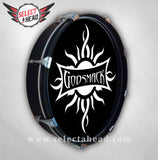 Godsmack White Sun - Select a Head Drum Display