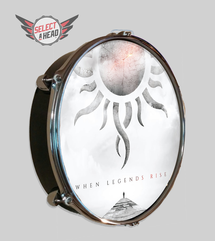 Godsmack When Legends Rise - Select a Head Drum Display