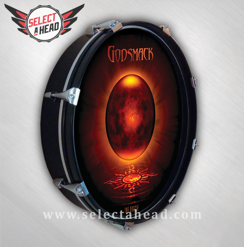 Godsmack The Oracle - Select a Head Drum Display