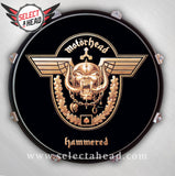 Motörhead Hammered - Select a Head Drum Display
