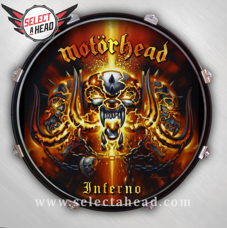 Motörhead Inferno. - Select a Head Drum Display