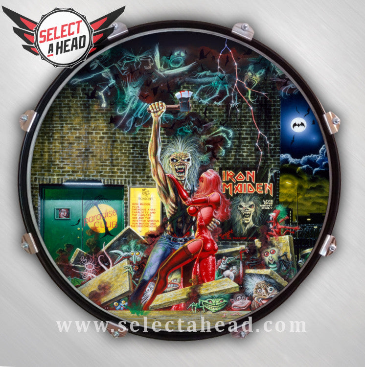 Iron Maiden Daughter to the Slaughter - Select a Head Drum Display