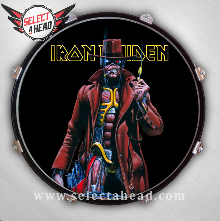 Iron Maiden Stranger In A Strange Land - Select a Head Drum Display